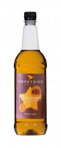 Sweetbird Honeycomb Syrup - 1 Litre